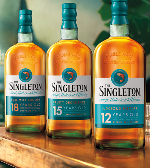 The Singleton Single Malt Whisky Family - Whisky Bottles and Products