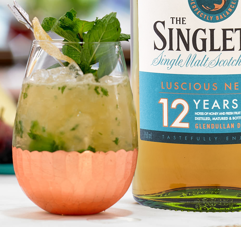 Singleton Ginger Mojito Whisky Cocktail Mix Drink