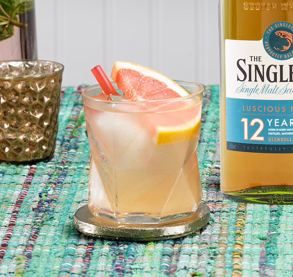 Singleton Paloma Whisky Cocktail Mix Drink