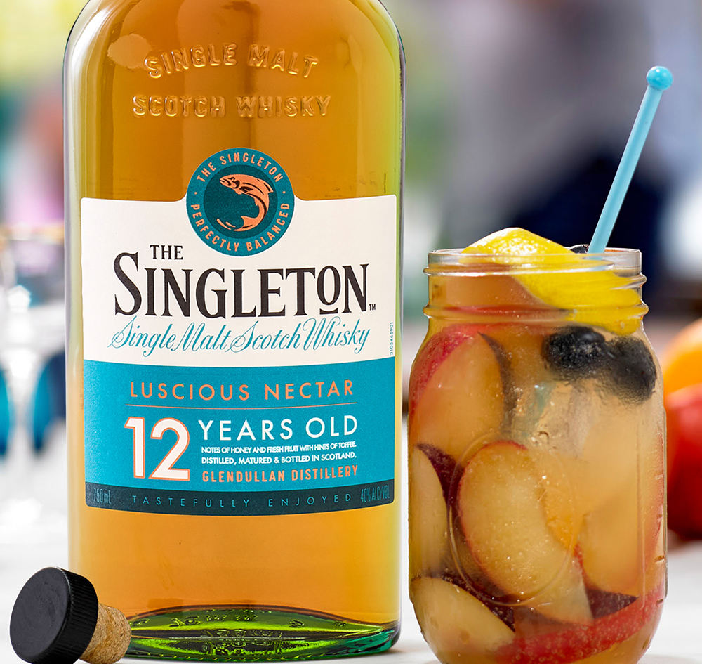 Singleton Presbyterian Whisky Cocktail Mix Drink