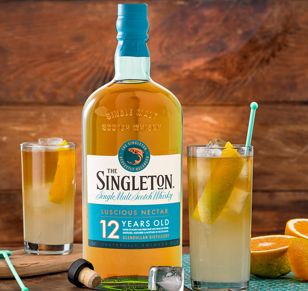 Singleton Lemonade Whisky Cocktail Mix Drink